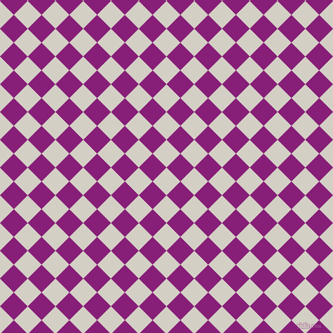 45/135 degree angle diagonal checkered chequered squares checker pattern checkers background, 28 pixel square size, , Westar and Dark Purple checkers chequered checkered squares seamless tileable
