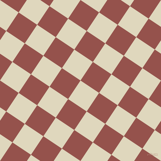 56/146 degree angle diagonal checkered chequered squares checker pattern checkers background, 75 pixel squares size, , Wheatfield and Copper Rust checkers chequered checkered squares seamless tileable