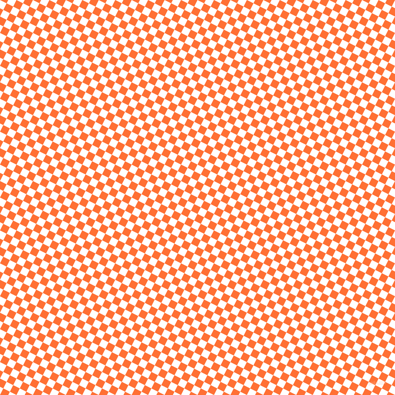 63/153 degree angle diagonal checkered chequered squares checker pattern checkers background, 15 pixel square size, , White and Burnt Orange checkers chequered checkered squares seamless tileable