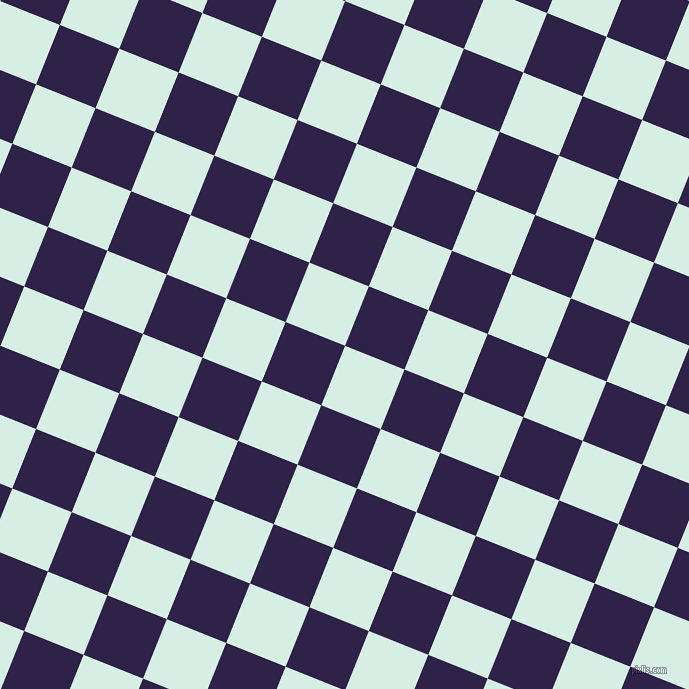 68/158 degree angle diagonal checkered chequered squares checker pattern checkers background, 64 pixel square size, White Ice and Violent Violet checkers chequered checkered squares seamless tileable