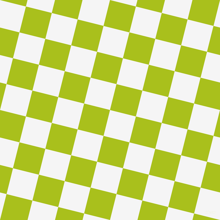 76/166 degree angle diagonal checkered chequered squares checker pattern checkers background, 92 pixel squares size, White Smoke and Bahia checkers chequered checkered squares seamless tileable