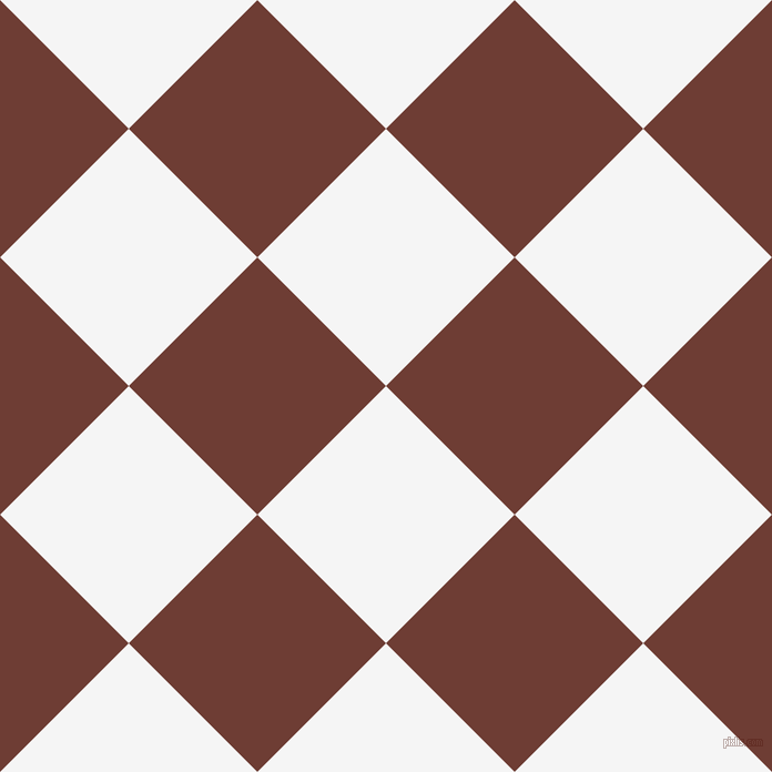 45/135 degree angle diagonal checkered chequered squares checker pattern checkers background, 164 pixel squares size, , White Smoke and Metallic Copper checkers chequered checkered squares seamless tileable