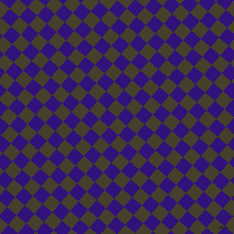 49/139 degree angle diagonal checkered chequered squares checker pattern checkers background, 44 pixel square size, , Woodrush and Persian Indigo checkers chequered checkered squares seamless tileable