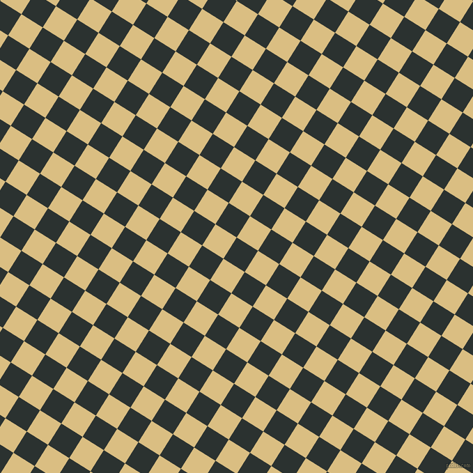 58/148 degree angle diagonal checkered chequered squares checker pattern checkers background, 36 pixel squares size, , Woodsmoke and Straw checkers chequered checkered squares seamless tileable