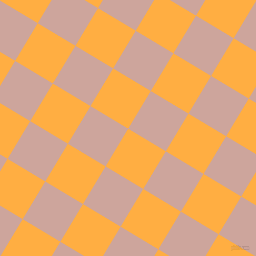 59/149 degree angle diagonal checkered chequered squares checker pattern checkers background, 86 pixel squares size, , Yellow Orange and Eunry checkers chequered checkered squares seamless tileable