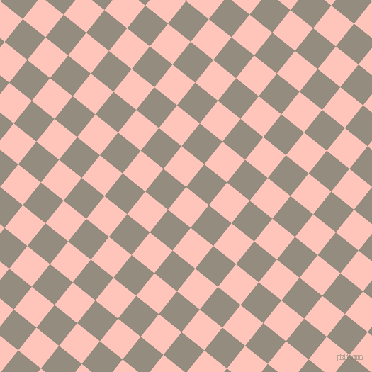 51/141 degree angle diagonal checkered chequered squares checker pattern checkers background, 41 pixel square size, , Your Pink and Heathered Grey checkers chequered checkered squares seamless tileable