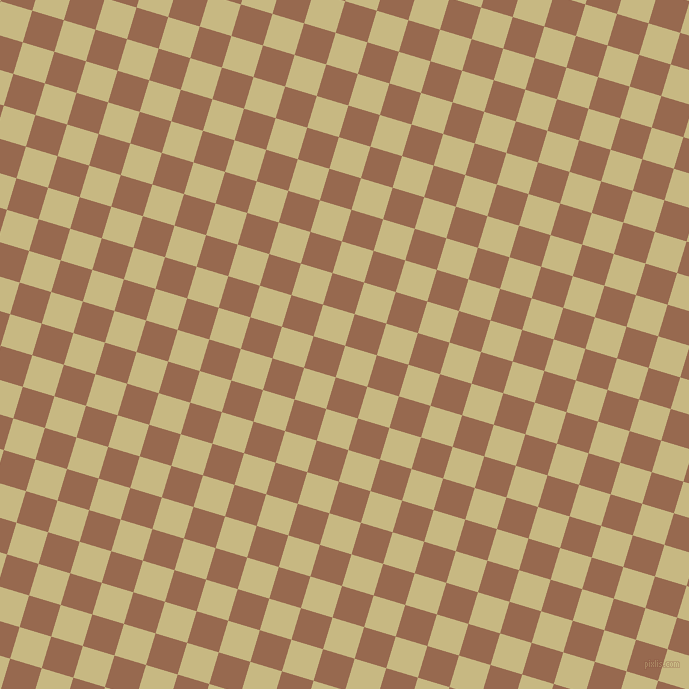 73/163 degree angle diagonal checkered chequered squares checker pattern checkers background, 33 pixel squares size, , Yuma and Dark Tan checkers chequered checkered squares seamless tileable