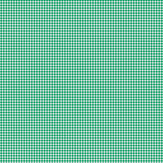 45/135 degree angle diagonal checkered chequered squares checker pattern checkers background, 6 pixel square size, , Zircon and Shamrock Green checkers chequered checkered squares seamless tileable