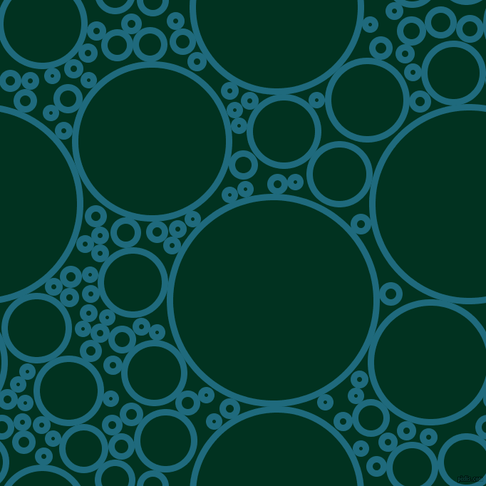 bubbles, circles, sponge, big, medium, small, 9 pixel line width, Allports and Dark Green circles bubbles sponge soap seamless tileable