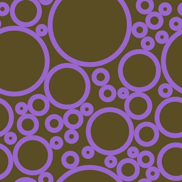 bubbles, circles, sponge, big, medium, small, 17 pixel line width, Amethyst and Bronze Olive circles bubbles sponge soap seamless tileable