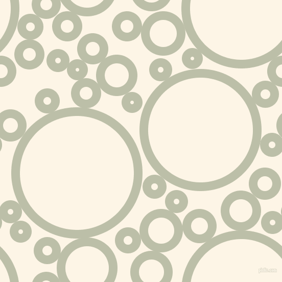bubbles, circles, sponge, big, medium, small, 17 pixel line width, Beryl Green and Old Lace circles bubbles sponge soap seamless tileable