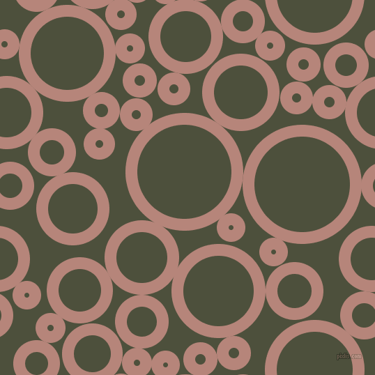 bubbles, circles, sponge, big, medium, small, 17 pixel line width, Brandy Rose and Kelp circles bubbles sponge soap seamless tileable