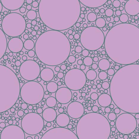 bubbles, circles, sponge, big, medium, small, 2 pixel line width, Breaker Bay and Lilac circles bubbles sponge soap seamless tileable