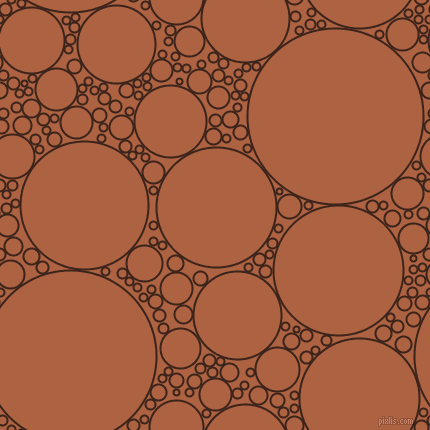 bubbles, circles, sponge, big, medium, small, 2 pixel line width, Brown Pod and Tuscany circles bubbles sponge soap seamless tileable