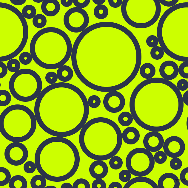 bubbles, circles, sponge, big, medium, small, 17 pixel line width, Bunting and Electric Lime circles bubbles sponge soap seamless tileable