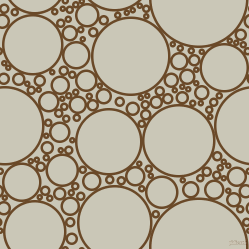 bubbles, circles, sponge, big, medium, small, 5 pixel line width, Cafe Royale and Chrome White circles bubbles sponge soap seamless tileable