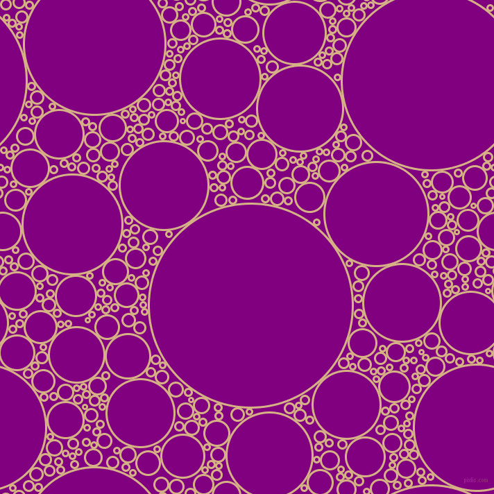 bubbles, circles, sponge, big, medium, small, 3 pixel line width, Calico and Purple circles bubbles sponge soap seamless tileable