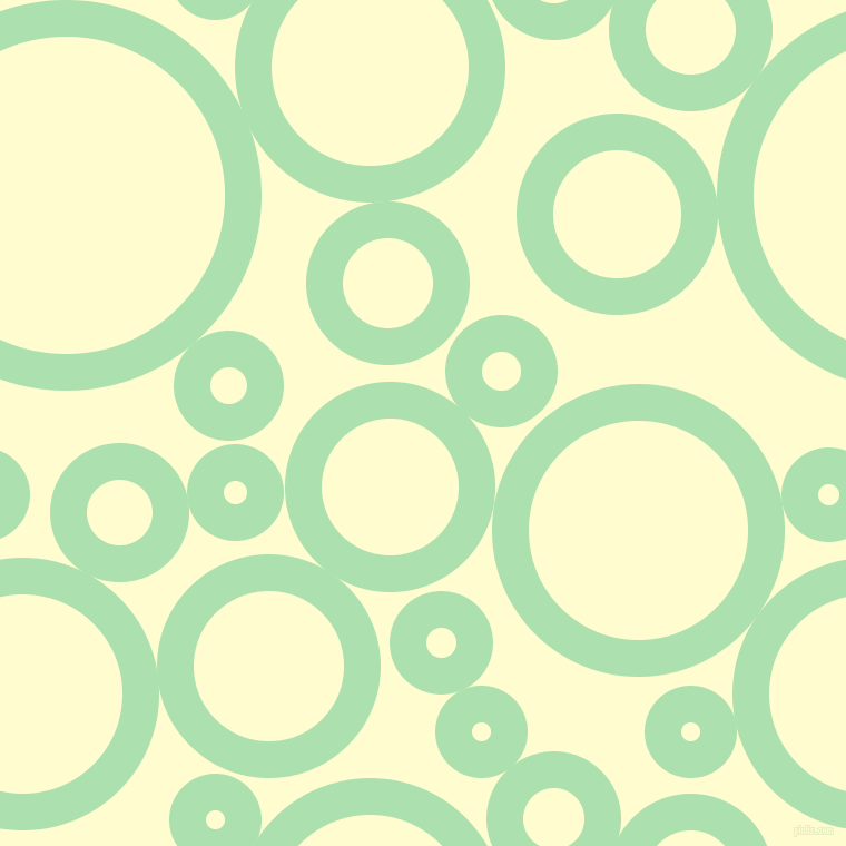bubbles, circles, sponge, big, medium, small, 33 pixel line width, Celadon and Cream circles bubbles sponge soap seamless tileable