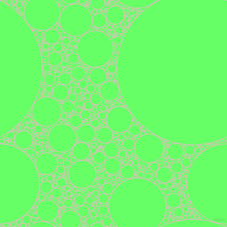 bubbles, circles, sponge, big, medium, small, 2 pixel line width, Chantilly and Screamin