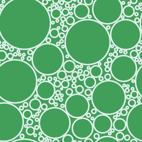 bubbles, circles, sponge, big, medium, small, 5 pixel line width, Clear Day and Chateau Green circles bubbles sponge soap seamless tileable