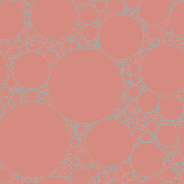 bubbles, circles, sponge, big, medium, small, 2 pixel line width, Conch and My Pink circles bubbles sponge soap seamless tileable