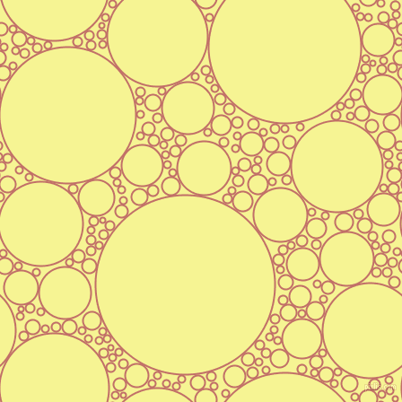 bubbles, circles, sponge, big, medium, small, 2 pixel line width, Contessa and Milan circles bubbles sponge soap seamless tileable