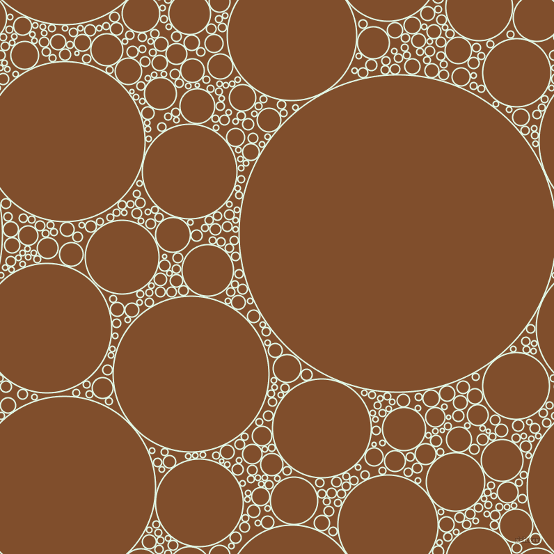 bubbles, circles, sponge, big, medium, small, 2 pixel line width, Cosmic Latte and Korma circles bubbles sponge soap seamless tileable