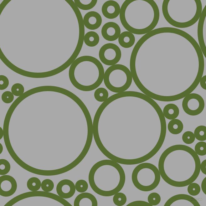 bubbles, circles, sponge, big, medium, small, 17 pixel line width, Dark Olive Green and Dark Gray circles bubbles sponge soap seamless tileable
