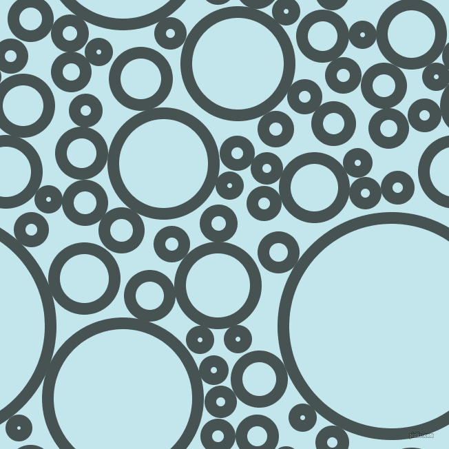 bubbles, circles, sponge, big, medium, small, 17 pixel line width, Dark Slate and Onahau circles bubbles sponge soap seamless tileable