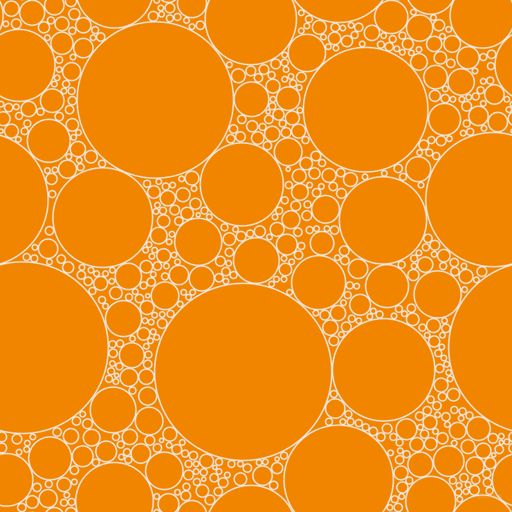 bubbles, circles, sponge, big, medium, small, 2 pixel line width, Desert Storm and Tangerine circles bubbles sponge soap seamless tileable