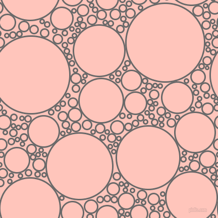 bubbles, circles, sponge, big, medium, small, 3 pixel line width, Dim Gray and Your Pink circles bubbles sponge soap seamless tileable