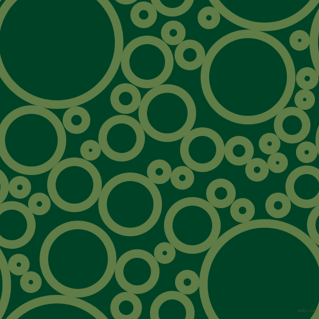 bubbles, circles, sponge, big, medium, small, 17 pixel line width, Dingley and British Racing Green circles bubbles sponge soap seamless tileable