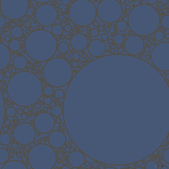 bubbles, circles, sponge, big, medium, small, 5 pixel line width, Dune and Chambray circles bubbles sponge soap seamless tileable