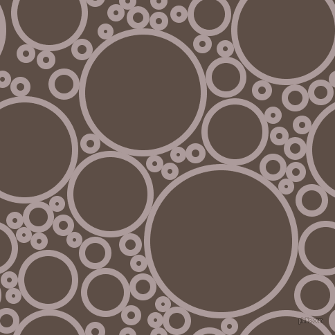 bubbles, circles, sponge, big, medium, small, 9 pixel line width, Dusty Grey and Saddle circles bubbles sponge soap seamless tileable