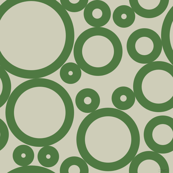 bubbles, circles, sponge, big, medium, small, 33 pixel line width, Fern Green and Moon Mist circles bubbles sponge soap seamless tileable