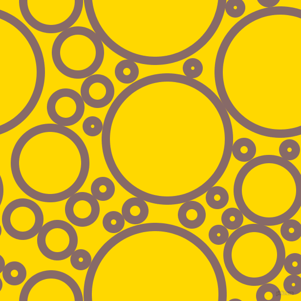 bubbles, circles, sponge, big, medium, small, 17 pixel line width, Ferra and School Bus Yellow circles bubbles sponge soap seamless tileable