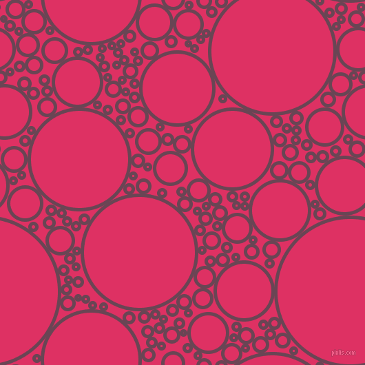 bubbles, circles, sponge, big, medium, small, 5 pixel line width, Finn and Cerise circles bubbles sponge soap seamless tileable