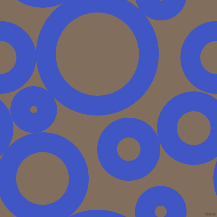 bubbles, circles, sponge, big, medium, small, 65 pixel line width, Free Speech Blue and Donkey Brown circles bubbles sponge soap seamless tileable