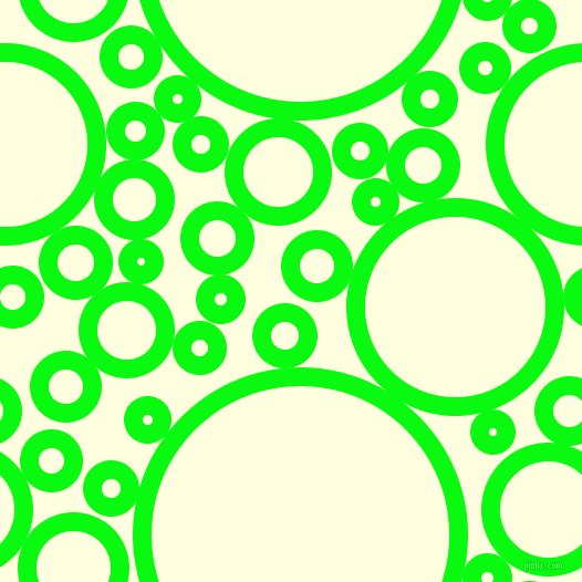 bubbles, circles, sponge, big, medium, small, 17 pixel line width, Free Speech Green and Light Yellow circles bubbles sponge soap seamless tileable