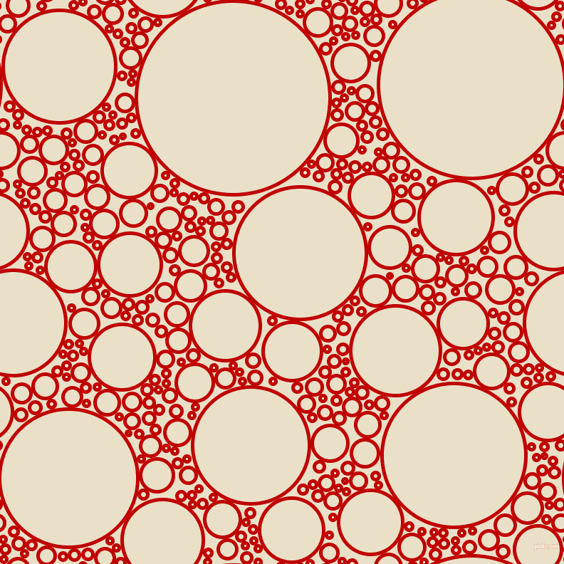 bubbles, circles, sponge, big, medium, small, 5 pixel line width, Free Speech Red and Pearl Lusta circles bubbles sponge soap seamless tileable