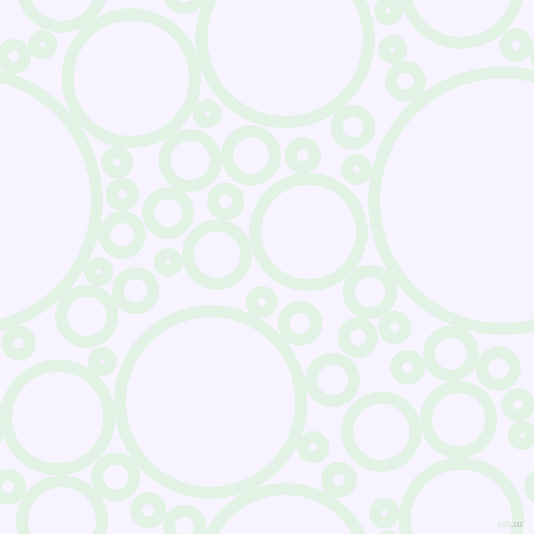 bubbles, circles, sponge, big, medium, small, 17 pixel line width, Frosted Mint and Magnolia circles bubbles sponge soap seamless tileable