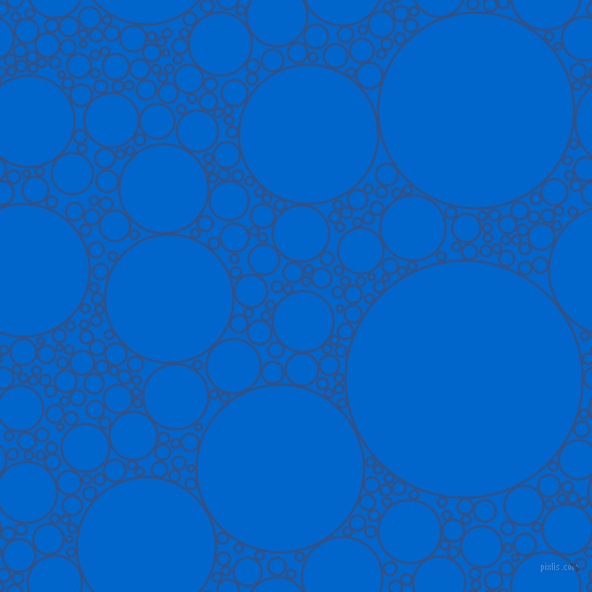 bubbles, circles, sponge, big, medium, small, 2 pixel line width, Fun Blue and Navy Blue circles bubbles sponge soap seamless tileable
