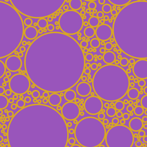 bubbles, circles, sponge, big, medium, small, 5 pixel line width, Galliano and Deep Lilac circles bubbles sponge soap seamless tileable