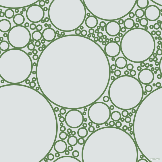 bubbles, circles, sponge, big, medium, small, 5 pixel line width, Glade Green and Zircon circles bubbles sponge soap seamless tileable