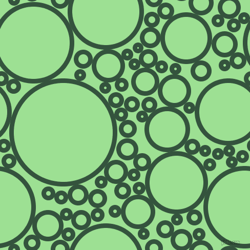 bubbles, circles, sponge, big, medium, small, 9 pixel line width, Goblin and Granny Smith Apple circles bubbles sponge soap seamless tileable