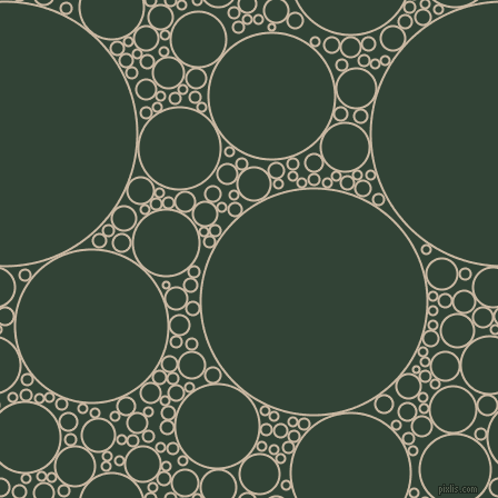 bubbles, circles, sponge, big, medium, small, 2 pixel line width, Grain Brown and Timber Green circles bubbles sponge soap seamless tileable
