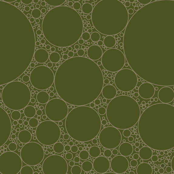 bubbles, circles, sponge, big, medium, small, 2 pixel line width, Granite Green and Army green circles bubbles sponge soap seamless tileable