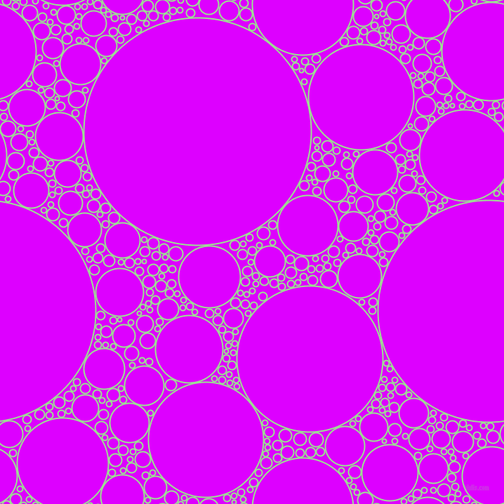 bubbles, circles, sponge, big, medium, small, 2 pixel line width, Granny Smith Apple and Psychedelic Purple circles bubbles sponge soap seamless tileable