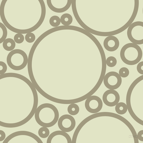 bubbles, circles, sponge, big, medium, small, 17 pixel line width, Grey Olive and Frost circles bubbles sponge soap seamless tileable