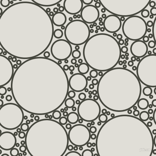 bubbles, circles, sponge, big, medium, small, 5 pixel line width, Heavy Metal and Black Haze circles bubbles sponge soap seamless tileable